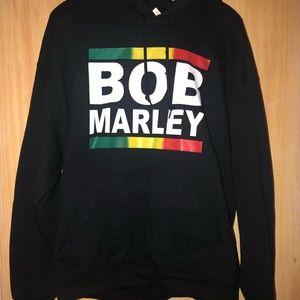 Tops - Bob Marley Hoodie